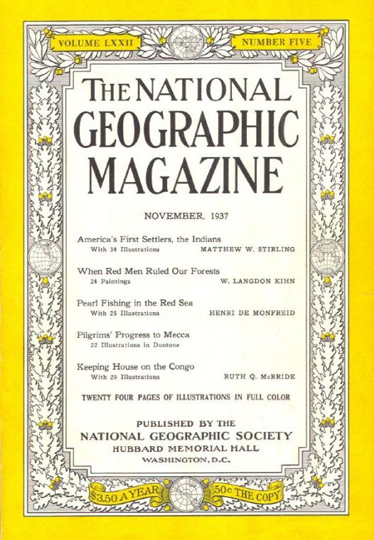 National Geographic November 1937-0