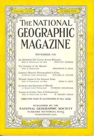 National Geographic November 1938-0