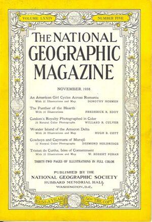 National Geographic November 1938-0