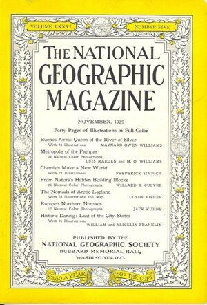National Geographic November 1939-0