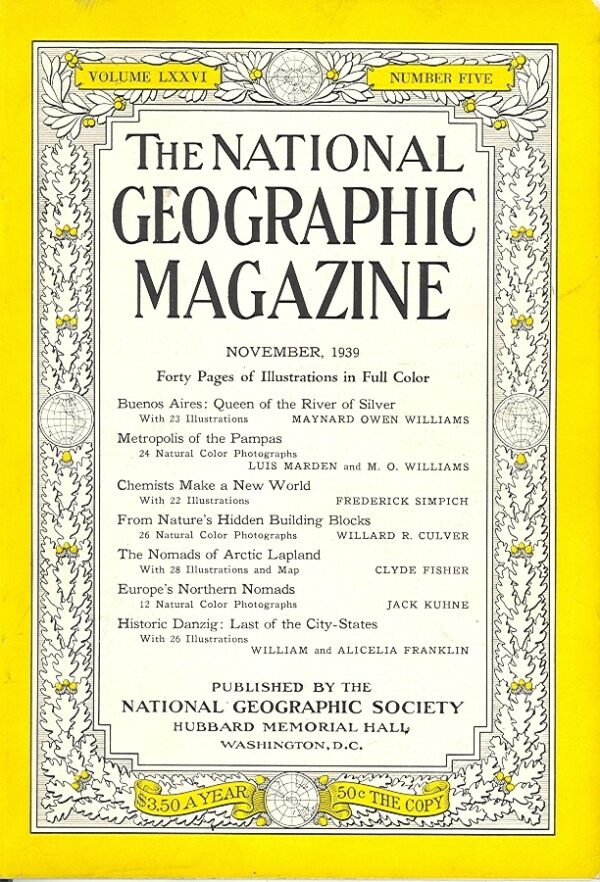 National Geographic November 1939-0