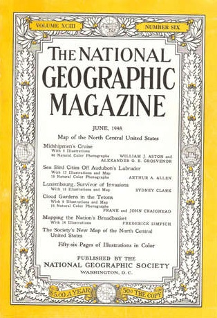 National Geographic June 1948-0