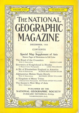 National Geographic December 1933-0