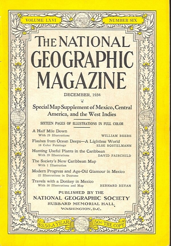 National Geographic December 1934-0