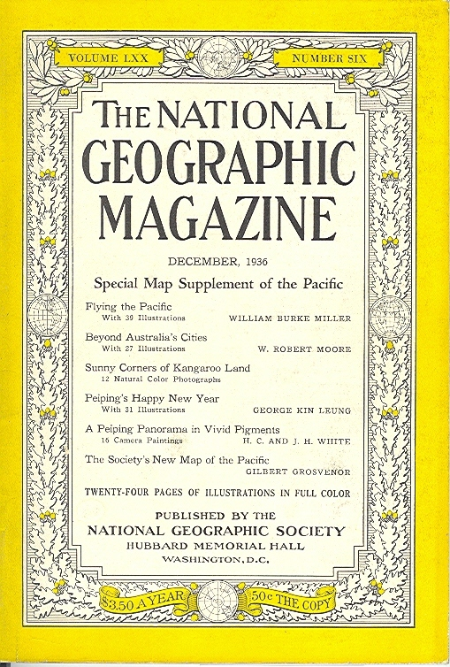National Geographic December 1936-0