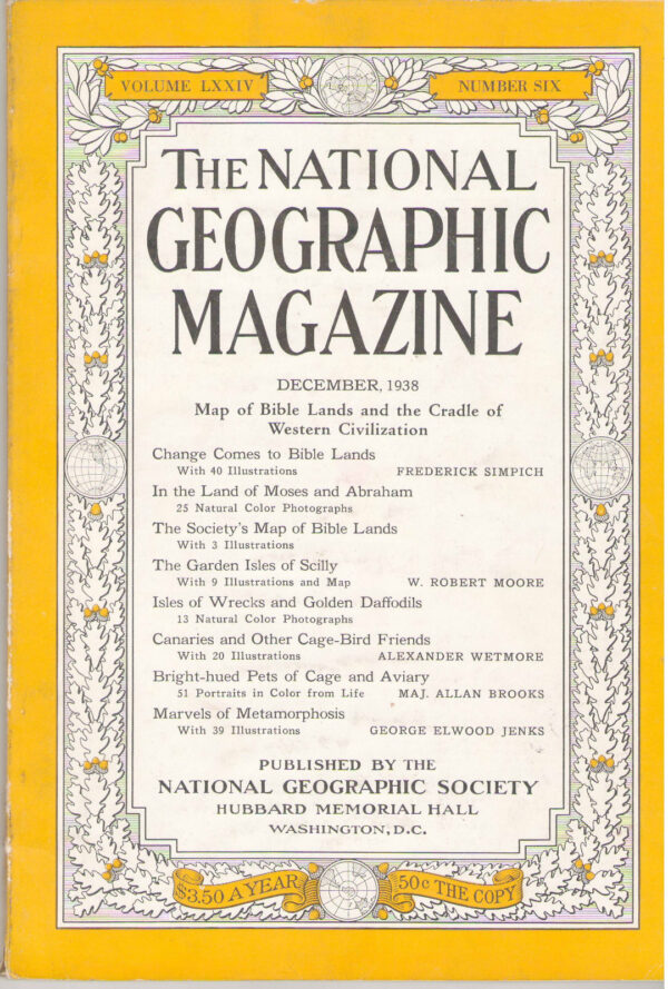 National Geographic December 1938-0