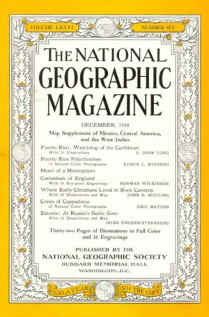 National Geographic December 1939-0