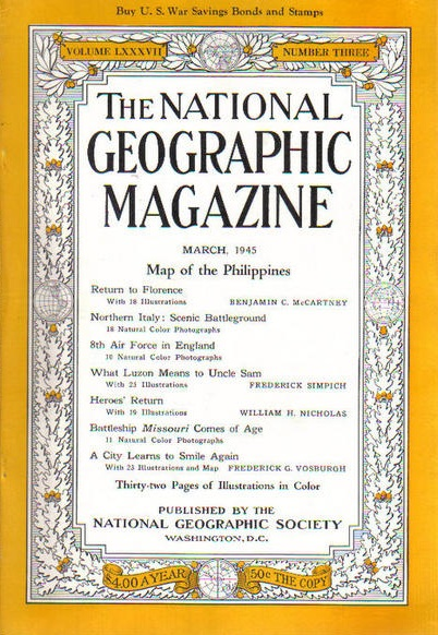 National Geographic March 1945-0