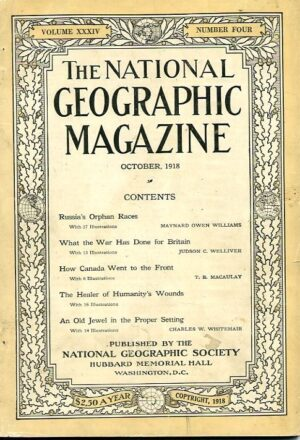 National Geographic October 1918-0