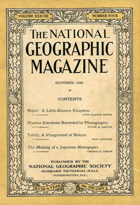 National Geographic October 1920-0