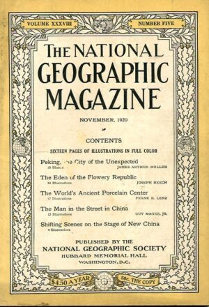 National Geographic November 1920-0
