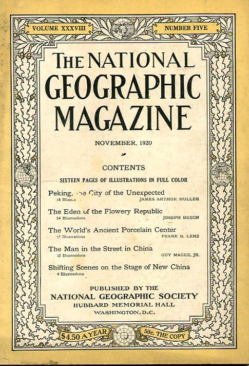 National Geographic November 1920-0