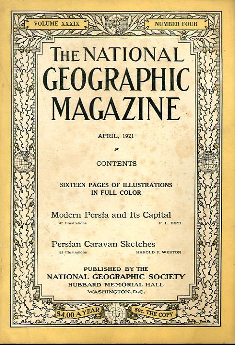 National Geographic April 1921-0