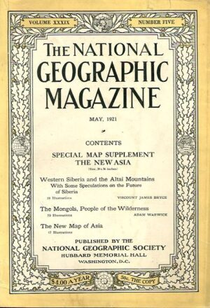 National Geographic May 1921-0
