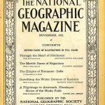 National Geographic November 1921-0