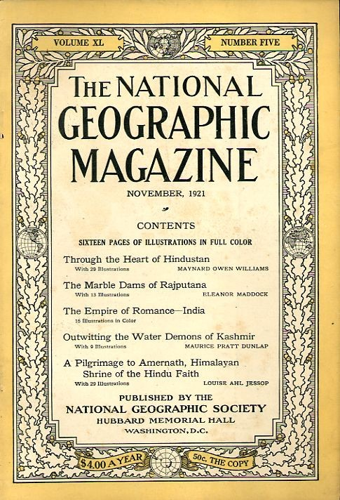 National Geographic November 1921-0