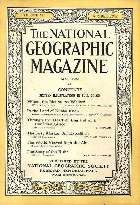 National Geographic May 1922-0