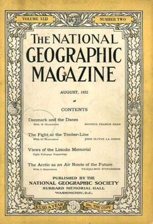 National Geographic August 1922-0