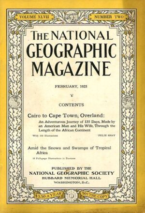 National Geographic February 1925-0