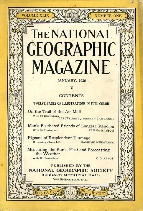 National Geographic January 1926-0