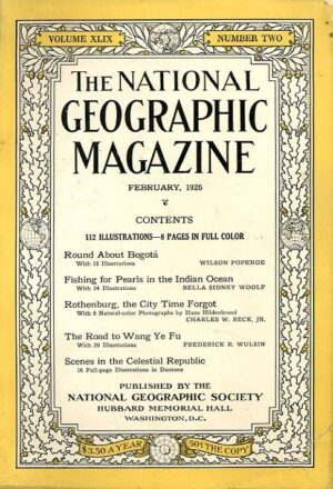 National Geographic February 1926-0