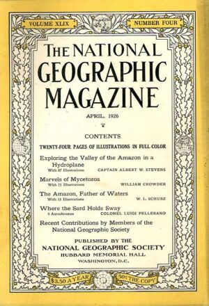 National Geographic April 1926-0