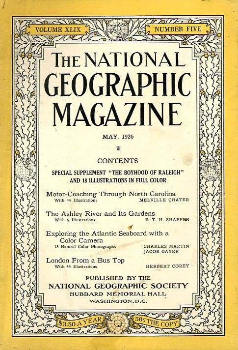 National Geographic May 1926-0
