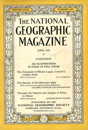 National Geographic June 1926-0