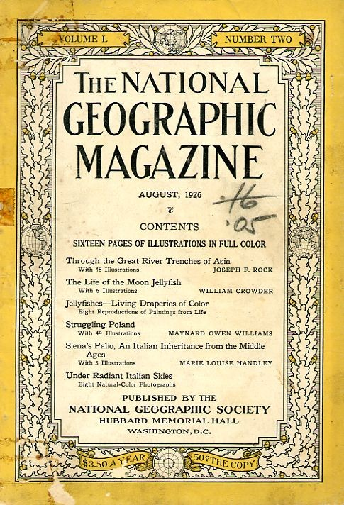 National Geographic August 1926-0