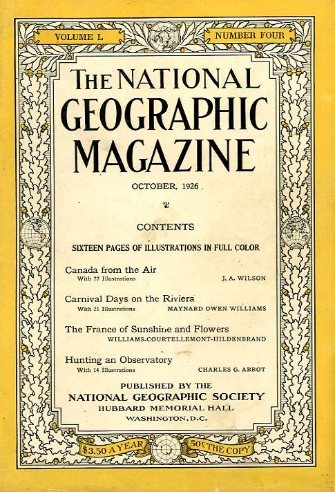 National Geographic October 1926-0