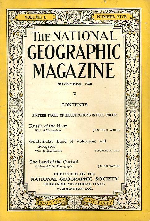 National Geographic November 1926-0