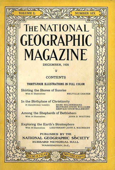 National Geographic December 1926-0