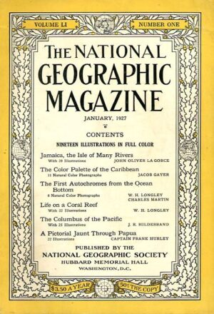 National Geographic January 1927-0