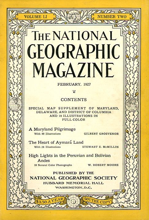 National Geographic February 1927-0