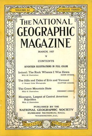National Geographic March 1927-0