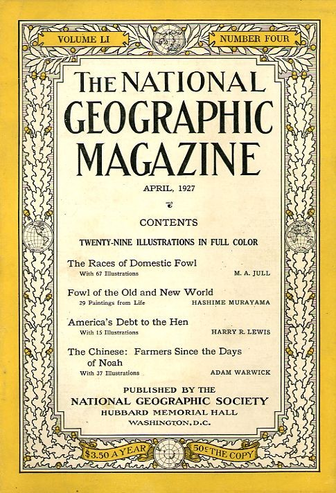 National Geographic April 1927-0