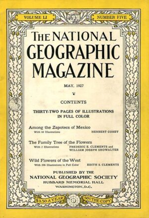 National Geographic May 1927-0