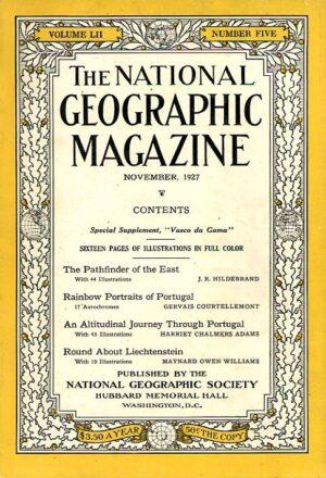 National Geographic November 1927-0