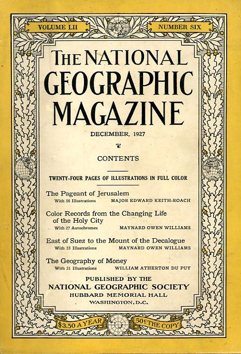 National Geographic December 1927-0