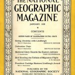 National Geographic January 1928-0