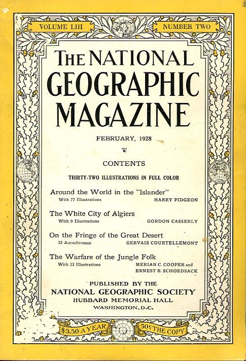 National Geographic February 1928-0