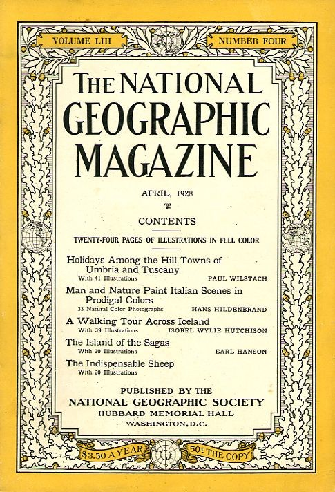 National Geographic April 1928-0