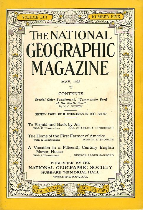National Geographic May 1928-0