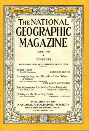 National Geographic June 1928-0