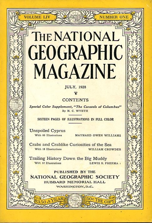 National Geographic July 1928-0