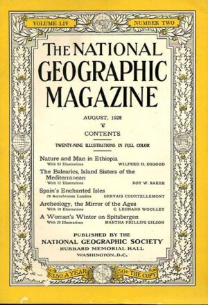 National Geographic August 1928-0