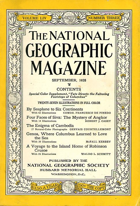 National Geographic September 1928-0
