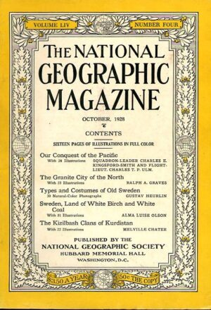 National Geographic October 1928-0