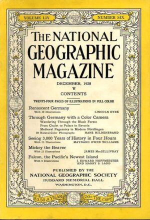 National Geographic December 1928-0