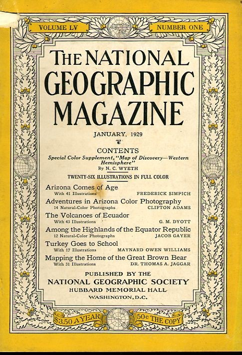 National Geographic January 1929-0